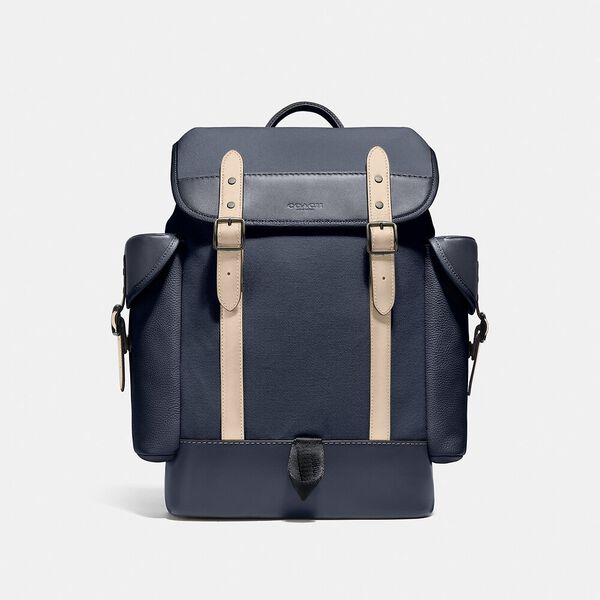 Hitch Backpack In Organic Cotton Canvas