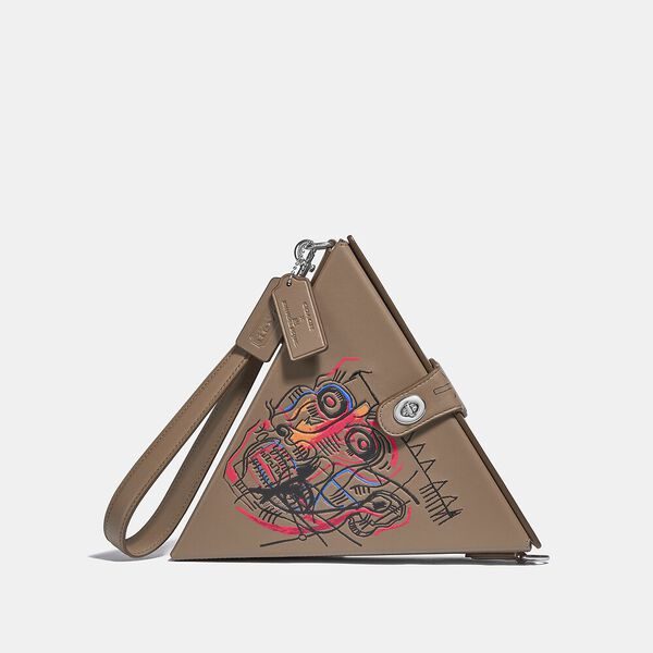 Coach X Basquiat Triangle Bag 24 With Head 1982