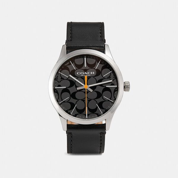 Baxter Watch, 39Mm, BLACK, hi-res
