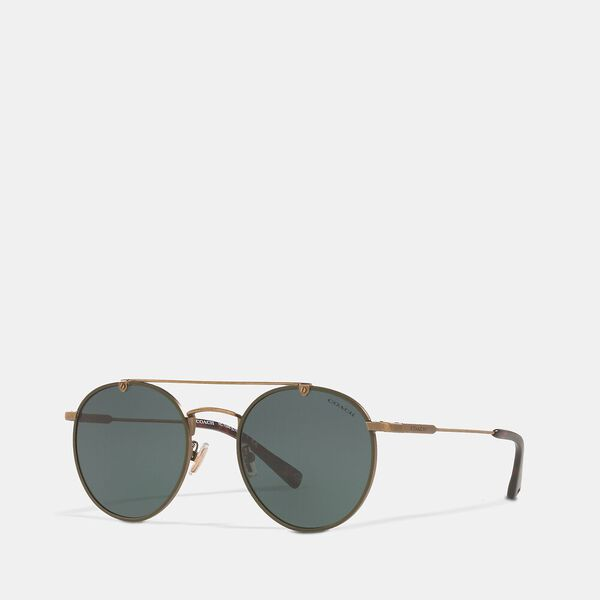 Thin Metal Round Sunglasses