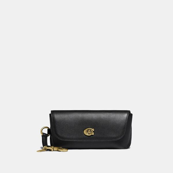 Sunglass Case Bag Charm, B4/BLACK, hi-res