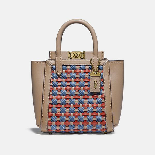 Troupe Tote 16 With Weaving