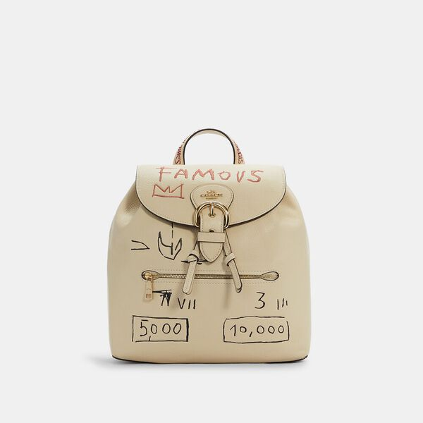 Coach X Jean-Michel Basquiat Kleo Backpack
