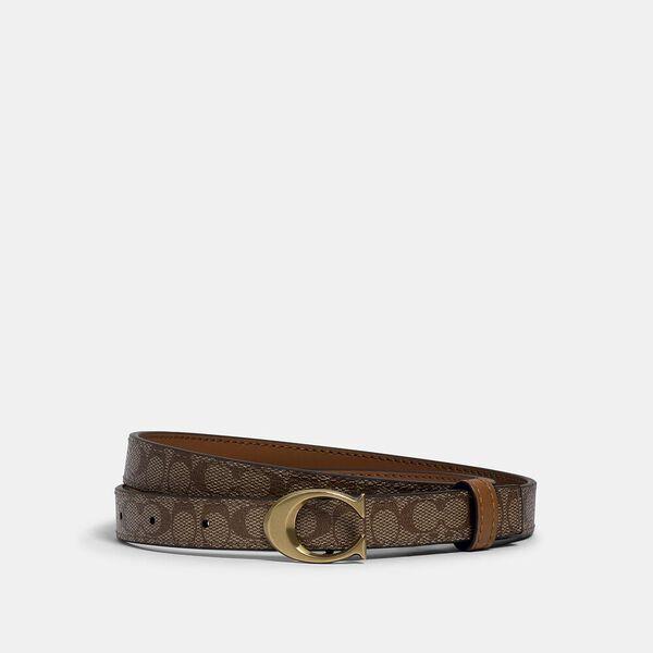Signature Buckle Belt, 18Mm