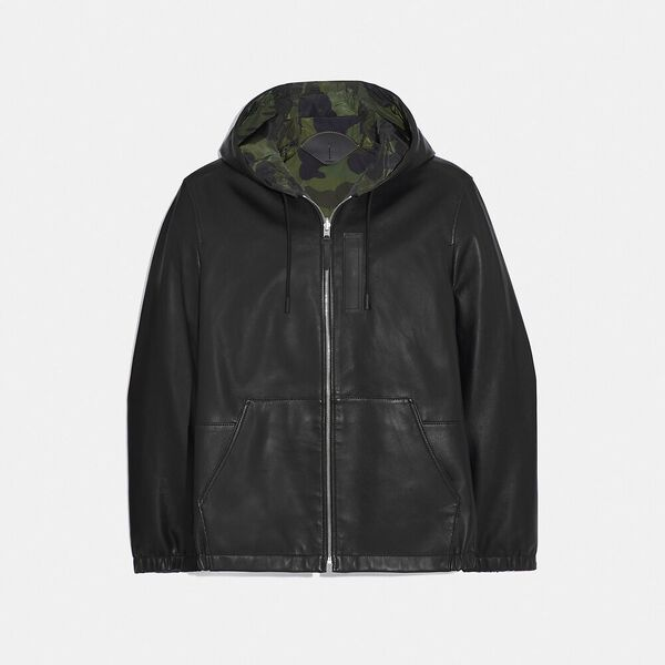 Reversible Hooded Leather Trainer