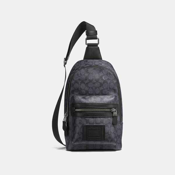 Academy Pack In Signature Canvas, QB/CHARCOAL, hi-res