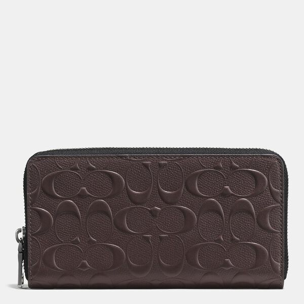 Accordion Wallet In Signature Leather