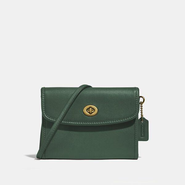 Turnlock Flap Wallet