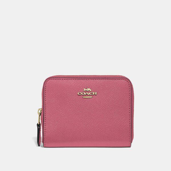 Small Zip Around Wallet, B4/ORCHID, hi-res