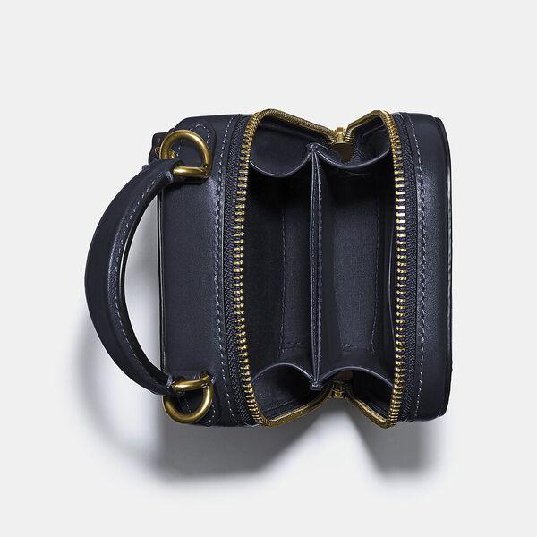 Alie Camera Bag In Signature Jacquard, B4/NAVY MIDNIGHT NAVY, hi-res