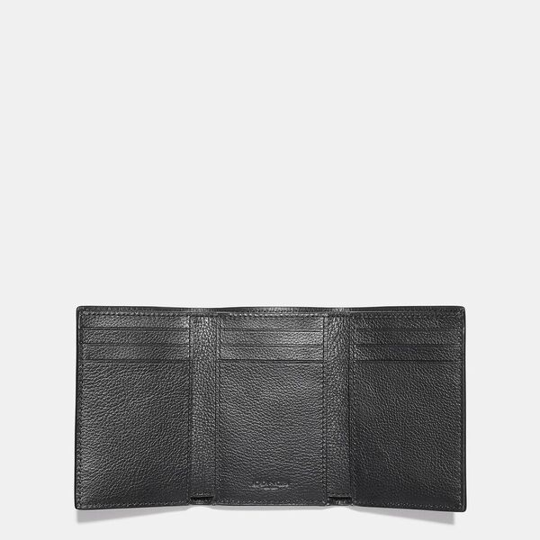 Trifold Wallet, BLACK, hi-res