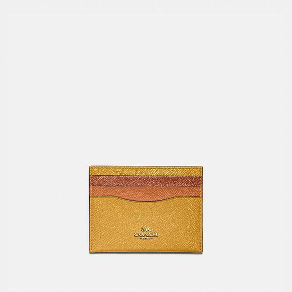 Card Case In Colorblock, B4/BUTTERCUP MULTI, hi-res