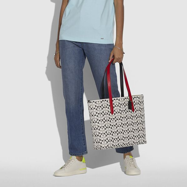 Disney Mickey Mouse X Keith Haring Highline Tote, B4/CHALK MULTI, hi-res
