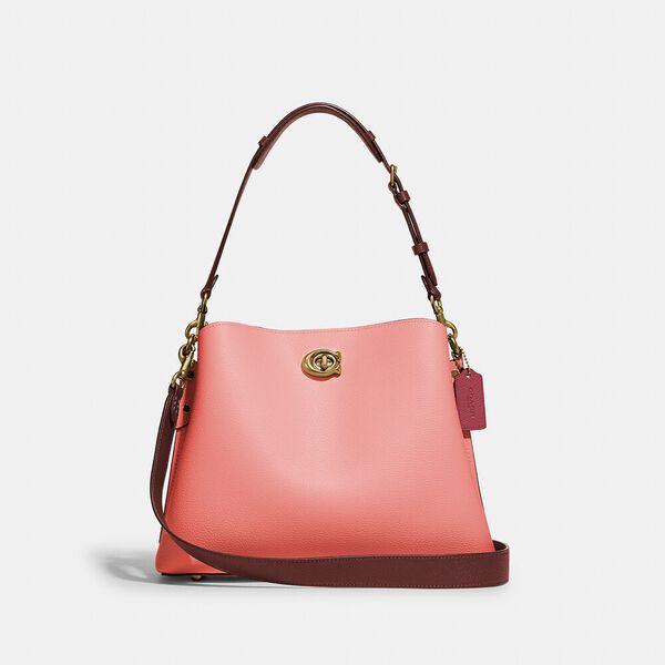 Willow Shoulder Bag In Colorblock