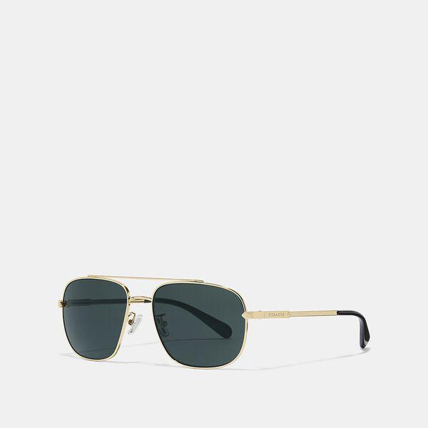 Eli Navigator Sunglasses, GOLD, hi-res