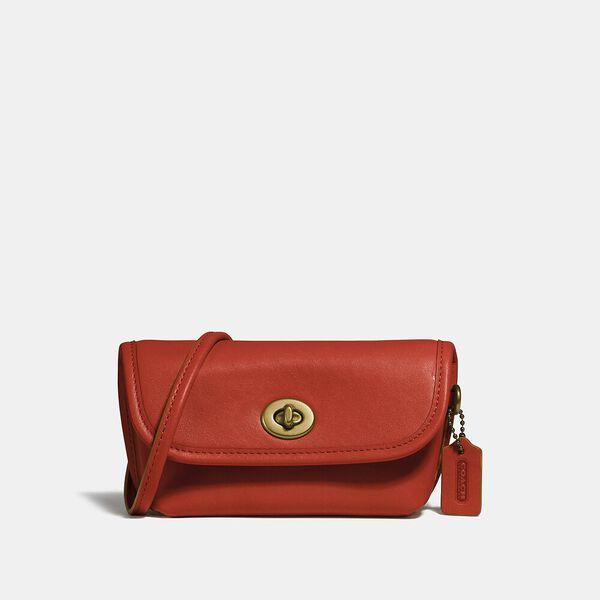 Turnlock Flare Belt Bag, B4/MANGO, hi-res
