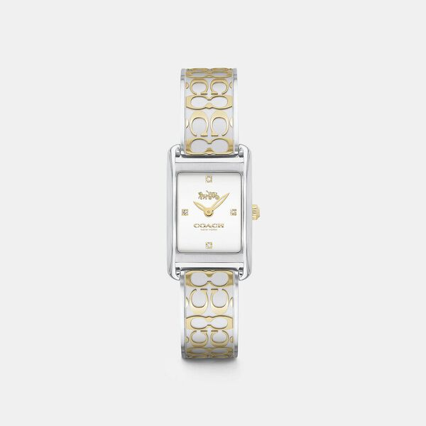 Allie Two-Tone Steel Slim Watch