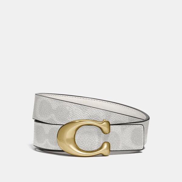 Signature Buckle Reversible Belt, 25mm