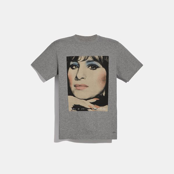 Coach X Richard Bernstein T-Shirt With Barbra Streisand
