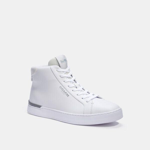 Clip High Top Sneaker, CHALK OPTIC WHITE, hi-res