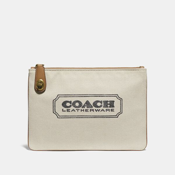Turnlock Pouch 26 With Coach Badge