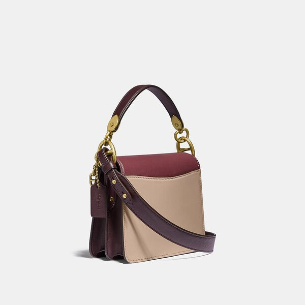 Beat Shoulder Bag 18 In Colorblock, B4/WINE MULTI, hi-res