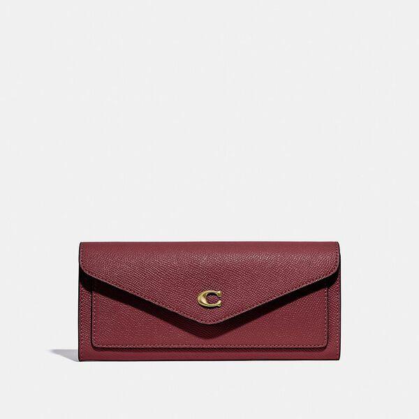 Wyn Soft Wallet, B4/WINE, hi-res