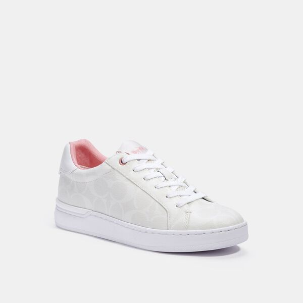 Clip Low Top Sneaker, OPTIC WHITE, hi-res