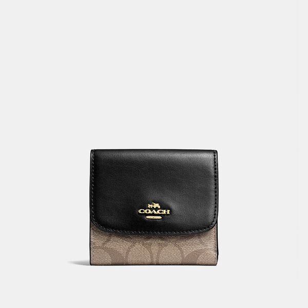 Small Wallet In Signature Canvas