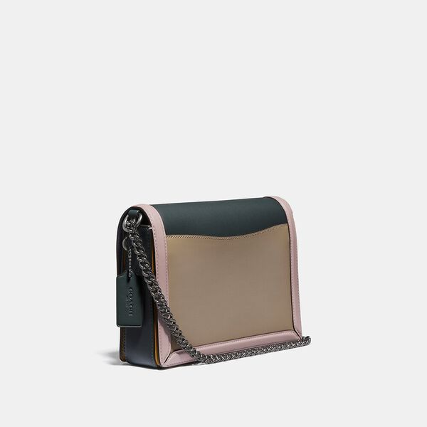 Hutton Shoulder Bag In Colorblock, V5/PNE GRN AURORA MULTI, hi-res