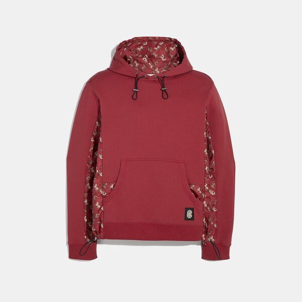 Lunar New Year Nylon Detail Hoodie