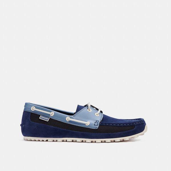 Boat Shoe, COBALT, hi-res