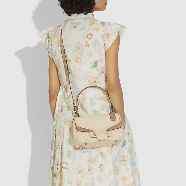 Cody Shoulder Bag In Colorblock, B4/IVORY TAUPE MULTI, hi-res