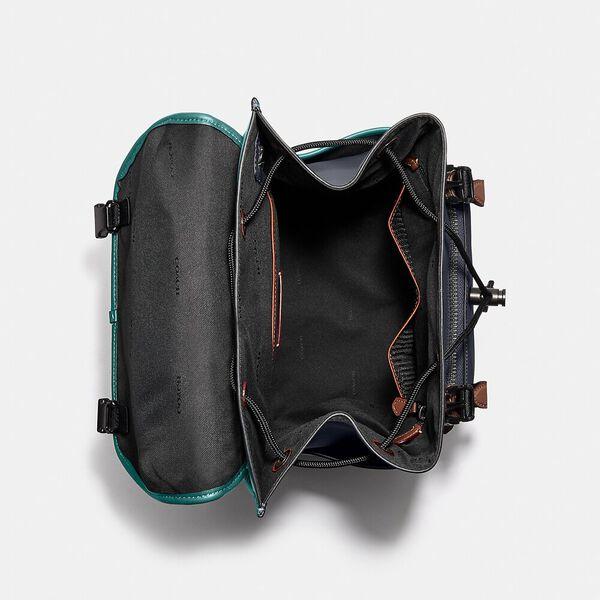League Flap Backpack In Colorblock, JI/OCEAN MULTI, hi-res
