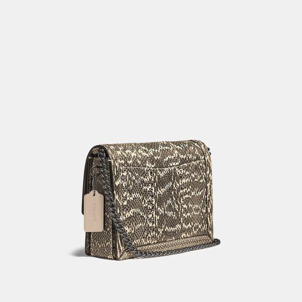 Hutton Shoulder Bag In Snakeskin, V5/NEUTRAL, hi-res