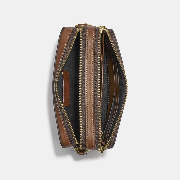 Charter Crossbody With Hybrid With Embroidery, SADDLE MULTI, hi-res