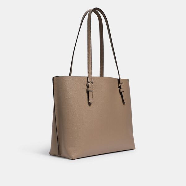 Mollie Tote, IM/TAUPE OXBLOOD, hi-res
