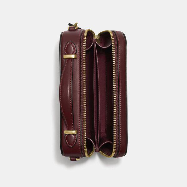 Alie Belt Bag In Signature Jacquard, B4/BURGUNDY BLK CHERRY, hi-res