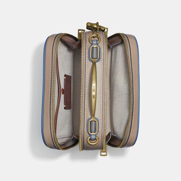 Riley Lunchbox Bag In Colorblock, B4/DARK DENIM MULTI, hi-res