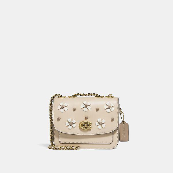 Madison Shoulder Bag 16 With Tea Rose Knot