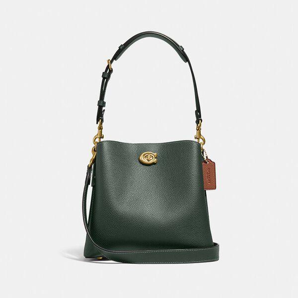 Willow Bucket Bag In Colorblock