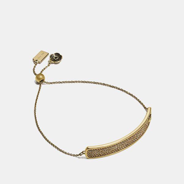 Slider Bracelet, GD/GOLD, hi-res