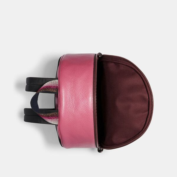 Vale Medium Charlie Backpack, QB/DARK PINK, hi-res
