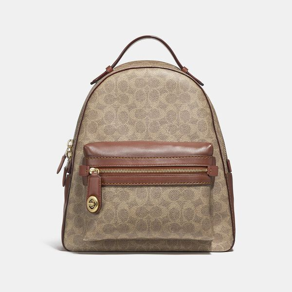 Campus Backpack In Signature Canvas