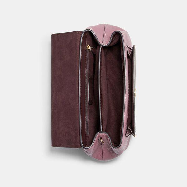 Remi Shoulder Bag In Colorblock Signature Canvas, IM/KHAKI/ MIDNIGHT MULTI, hi-res