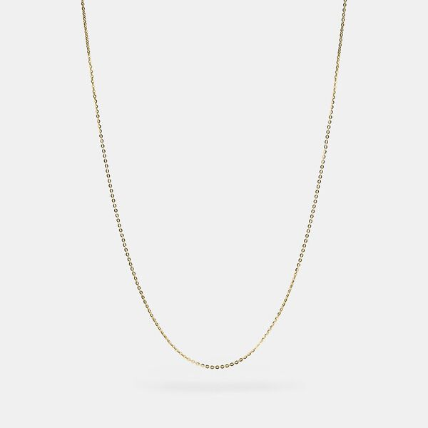 Collectible Chain Necklace, GOLD, hi-res