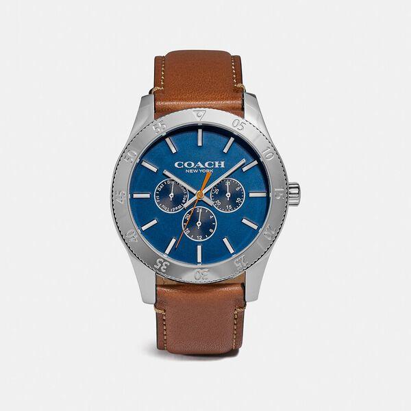 Casey Watch, 42Mm, BROWN, hi-res
