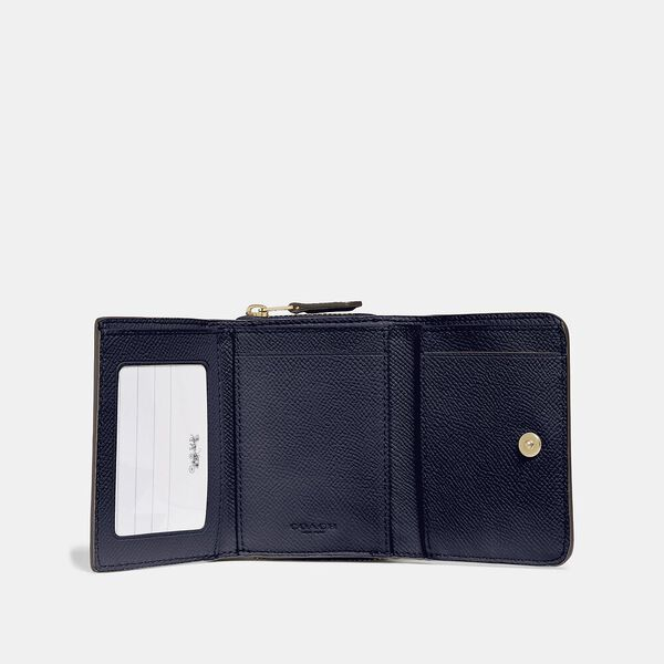 Small Trifold Wallet, IM/MIDNIGHT, hi-res
