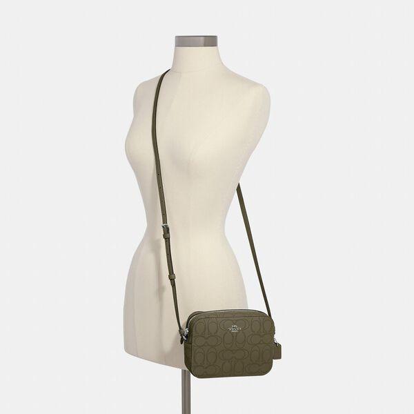 Mini Camera Bag In Signature Leather, SV/SURPLUS, hi-res
