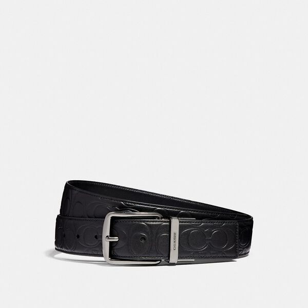 Harness Cut-To-Size Reversible Signature Leather Belt